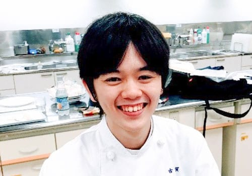 <small>4年</small> 古賀 優弥<small>さん</small>